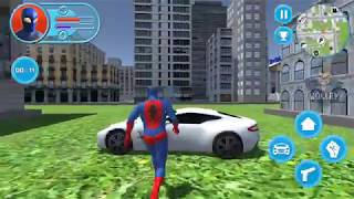 Strange Hero: Future Battle | Android Gameplay FHD - Real Life Superhero Spiderman Simulator Games