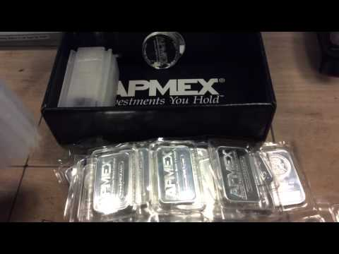 APMEX Silver Purchase and Unboxing .9999 Fine Pure Silver Bullion
