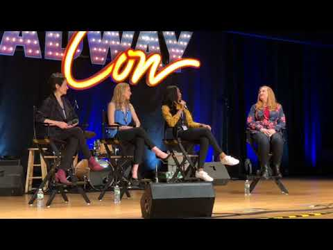 BroadwayCon 2018 with Lynn Ahrens, Christy Altomare & Hailey Kilgore!