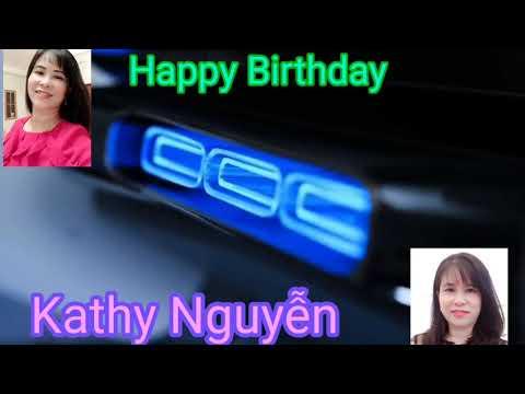 Karaoke Happy Birthday Kathy Nguyễn