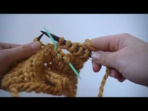 C3F Cabling 3 Stitches to the Front - Knitting