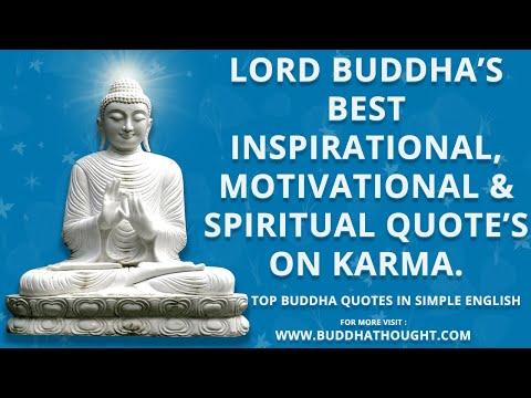 Gautam Buddha Quotes on Karma - Buddha Quotes - Buddha - Buddhism - Buddha Teachings - Buddhism Fact