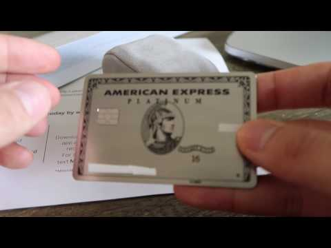 New American Express METAL Platinum Card!