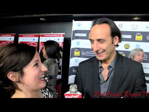 Alexandre Desplat at the Opening Night 9th Annual L.A. Italia Film Festival
