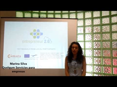 Entrepreneur 2 0 EU Project Testimonials Santiago Official Chamber of Commerce 1