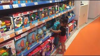 Rana Niloya Almak İçin Oyuncak Mağazasına Alışverişe Gitti.Ama Oyuncakların Hepsini Almak İstedi.