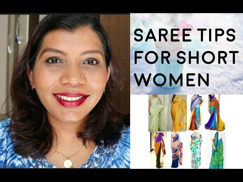Saree Tips for short women | Best Sarees for short and Plus size women