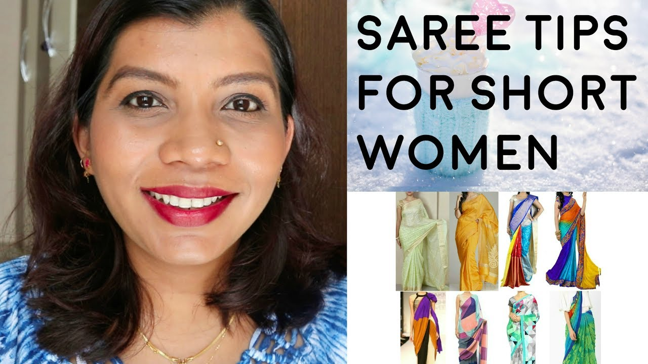 Saree Tips For Short Women