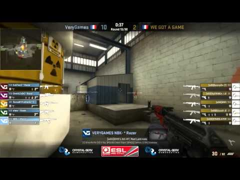 ESL Pro Series France Cup #4 Final: VeryGames vs WE GOT GAME (Game One)
