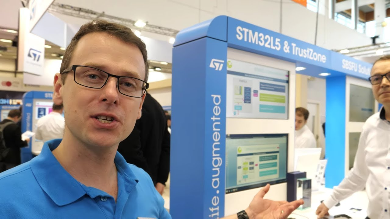 ST booth tour at Embedded World 2019 (Part 2) STM32L5