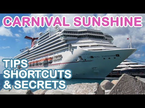 Carnival Sunshine 2018: Tips, Shortcuts, and Secrets
