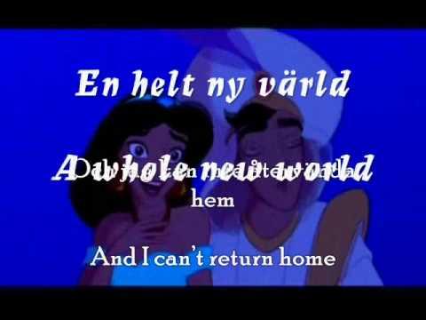 Aladdin - A whole new world (Swedish)