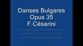 Danses Bulgares Op35 F. Césarini