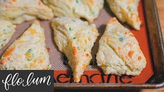 Cheese and Onion Scones | Simply Delicious