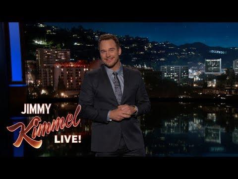 Chris Pratt's Guest Host Monologue on Jimmy Kimmel Live