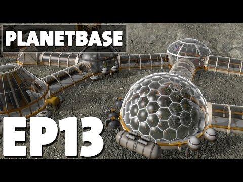 Let's Play Planetbase Episode 13 - Radio Antenna - Version 1.0.4