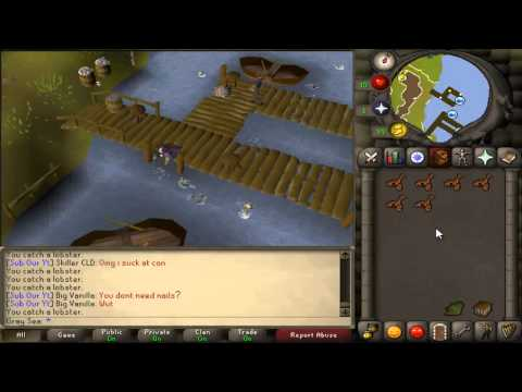 Skills For Mills #9 - Fishing Lobsters & Swordfish/Tuna - Level 3 Skiller Progress