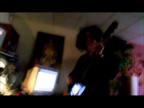 Carlos Creator recording at The Rockstudios