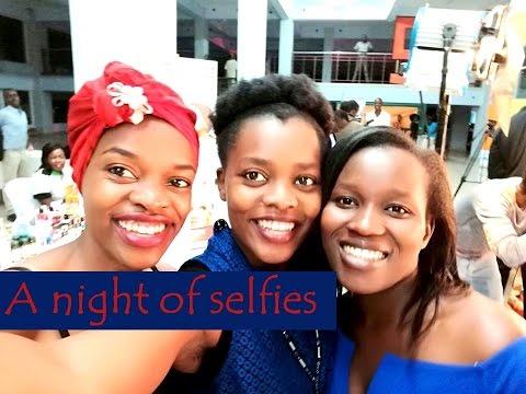 A night of selfies!! (Kisumu Fashion Week)