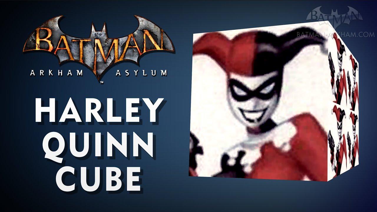 New Batman: Arkham Asylum Easter Egg - Harley Quinn Cube