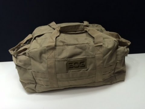 Sog Makes Bags Now Sog Mission Duffle Bag Youtube