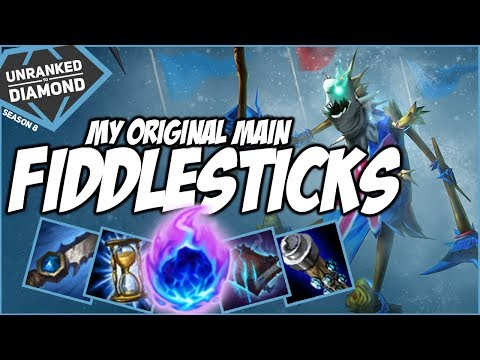 MY ORIGINAL MAIN!! (In Season 1) FIDDLESTICKS!!! - Unranked to Diamond - Ep. 76 | League of Legends