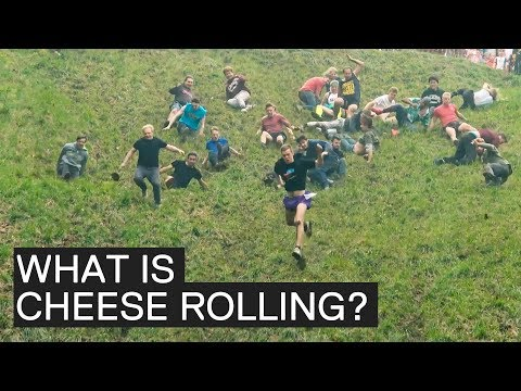 What is the Gloucester Cheese Rolling Competition? * Explained *