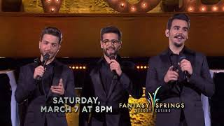 Baixar Il Volo: The Best of 10 Years at Fantasy Springs on Saturday, March 7th!
