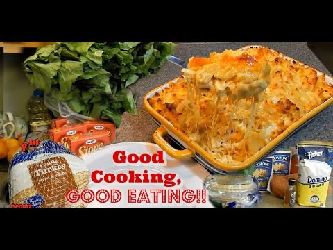 Cook With Me } Good Cooking, Good Eating - Sunday  Dinner Vlogging