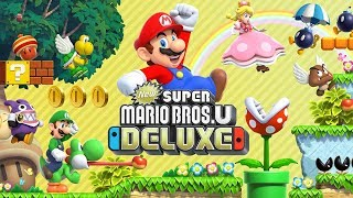 NEW SUPER MARIO BROS U DELUXE  Ao Vivo - Gameplay em Português!