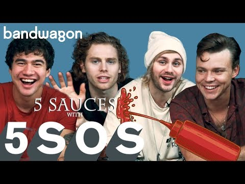 5 Seconds of Summer discuss Youngblood in 5 Sauces with 5SOS | Bandwagon