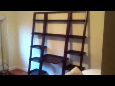 crate barrel Sloane bookcase Desk assembly service in DC MD VA by Furniture Assembly Experts LLC