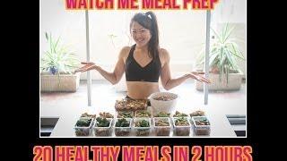 Watch Me Food Prep 20 Clean Meals In 2 Hours (baked Yogurt Chicken Recipe With Seasoning)