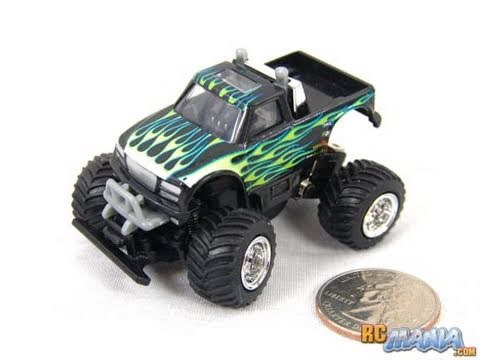 Air Hogs Thunder Truck Ultra Micro Rc Monster Truck Youtube