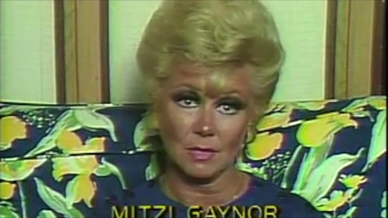 """Mitzi Gaynor: """"I quit film bec..."""
