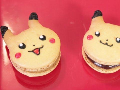 Pikachu French Macaroons QUAKE N BAKE YouTube