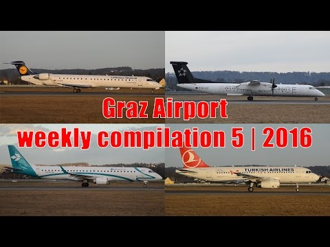 Weekly compilation from Graz Airport | week number 5