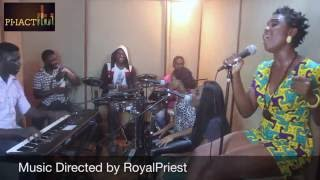 DANIELLA AND THE NUBREED BAND REHEARSAL - GOOD TIME KISS DANIEL COVER