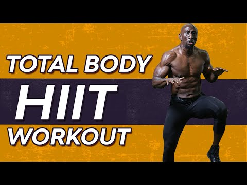 Total Body HIIT Workout for Men Over 40 FAT LOSS NO EQUIPMENT NEEDED