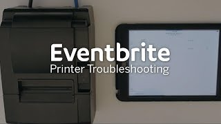 Eventbrite Printer Troubleshooting