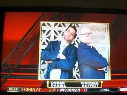 Chase Daniel and Warren Buffett