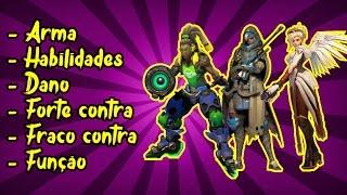GUIA DO INICIANTE SUPORTE #01 - Conhecendo a Ana, Lucio e Mercy! (PT-BR)