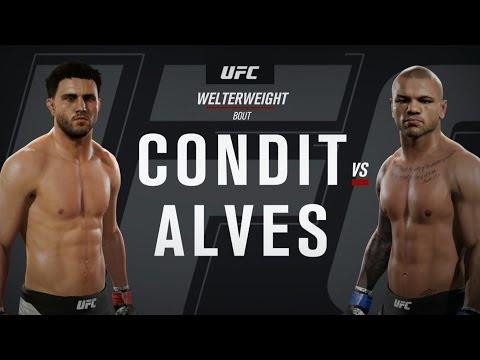 UFC ●  WELTERWEIGHT ● BEST MMA FIGHT EVER ● CARLOS CONDIT VS THIAGO ALVES