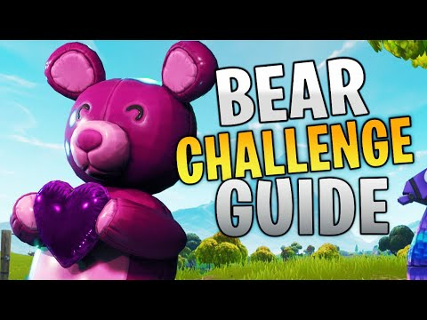 Carry A Giant Pink Teddy Bear Found In Risky Reels LOCATION Fortnite Week 9 Midas Challenges Guide