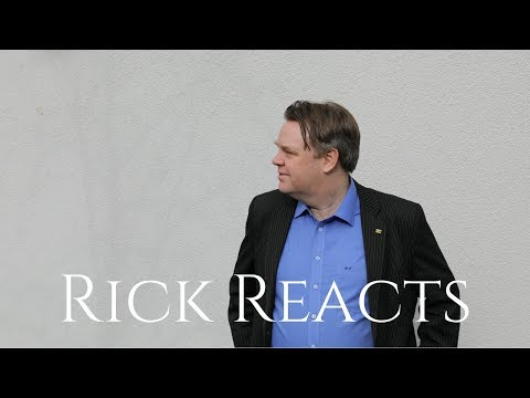 Rick Reacts: Some Experience in identifying Toxic People in Communities