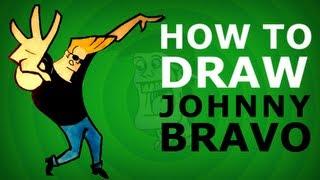 How to draw JOHNNY BRAVO