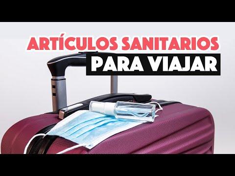 Artículos sanitarios BÁSICOS  para viajar