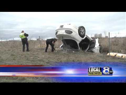 Update: Woman arrested after crash investigation