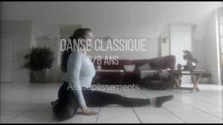 Exercice danse classique 8 ans, Assouplissements