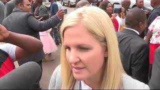 Kirtsy Covernty speaks on her appointment
